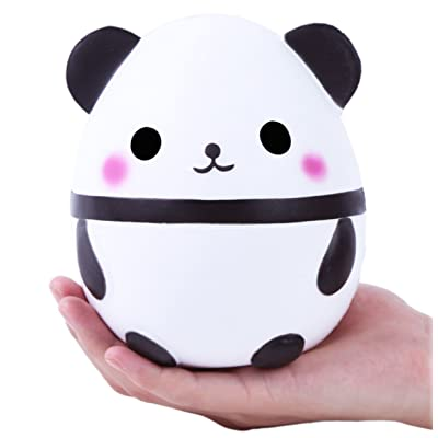 BeatlGem Jumbo Cute Panda Kawaii Cream Squishies perfumadas Very Slow Rising Juguetes para Niños Doll Gift Colección Divertida Stress Relief Toy Hop Props, Decorative Props Large: Hogar