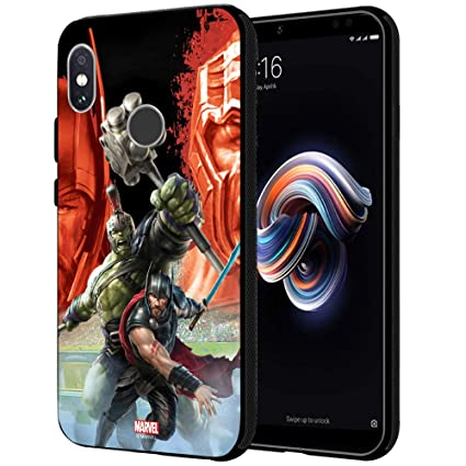 reputable site 73f49 6c66e MTT Marvel Thor Printed Mobile Back Case Cover for Redmi Note 5 Pro