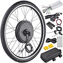 """AW 26""""x1.75"""" Front Wheel Electric Bicycle Motor Kit 48V 1000W Bicycle Cycling Engine w/ Dual Mode Controller"""