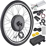 "AW 26""x1.75"" Front Wheel Electric Bicycle Motor Kit 48V 1000W Bicycle Cycling Engine w/ Dual Mode Controller"