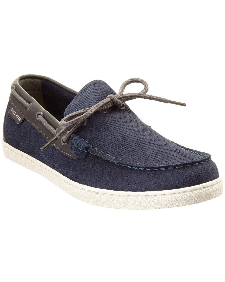 Cole Haan Men's Pinch Weekender Camp Moc Blazer Blue/Black Iris Loafer