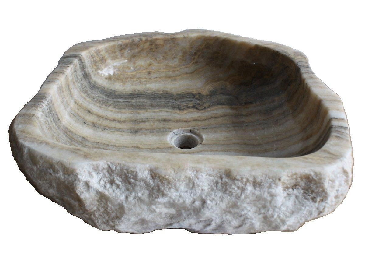 Eden Bath EB_S029JO-P Natural Stone Vessel Sink – Jurassic Onyx