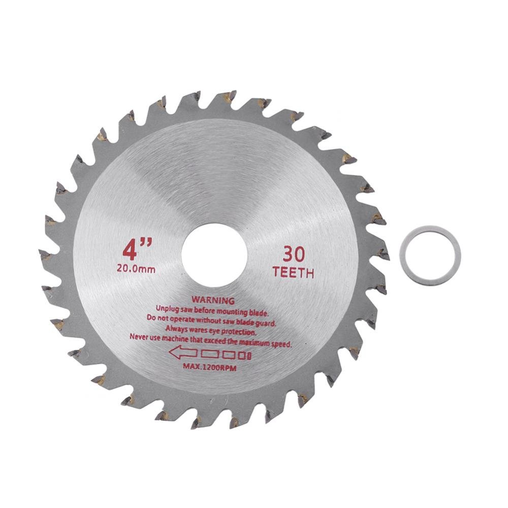4'' Cut Disic Shank High Speed Steel HSS Saw Disc Wheel Cutting Blades For Grinder Stone Brick Concrete Ceramic Tiles Dry Cutting Disc Wheel Saw