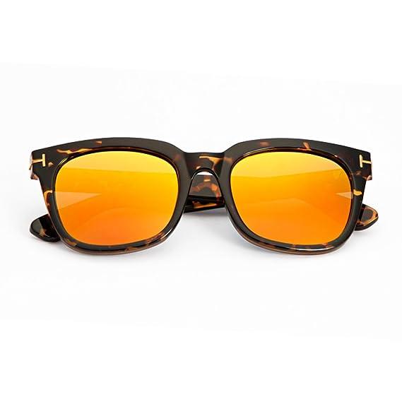 WKAIJC Mode Wilder Zustrom Von Menschen Männern Und Frauen Persönlichkeit Retro Gradient Sonnenbrille UV-Schutz Sonnenbrillen,B