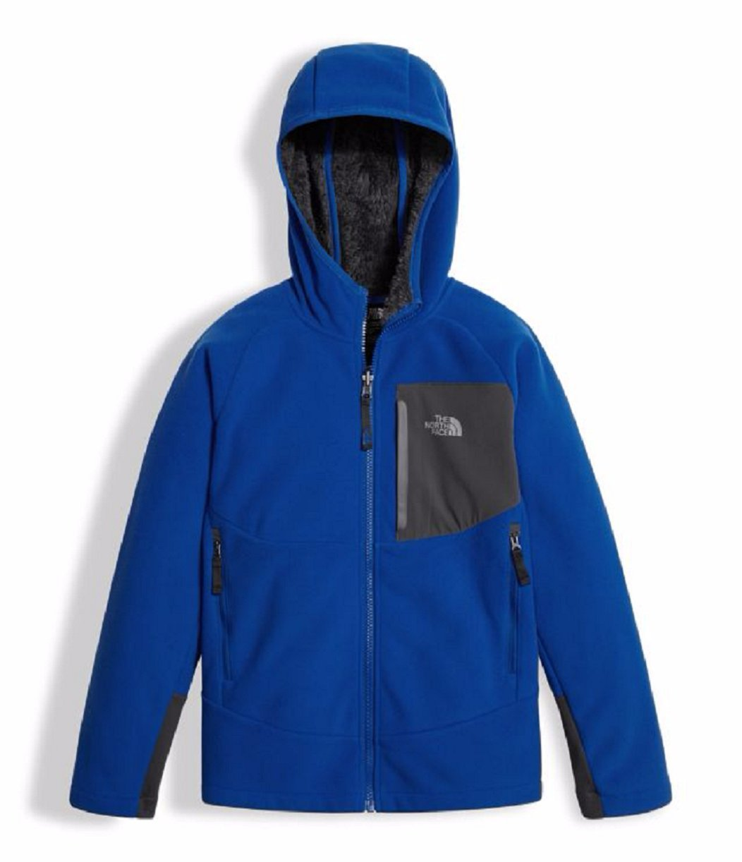 The North Face Boys' Chimborazo Hoodie - bright cobalt blue, s/7-8