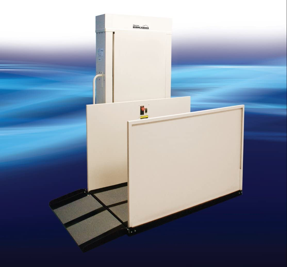 Electropedic Wheelchair Elevator Vertical Platform Mobile Home Porch Lift RPL