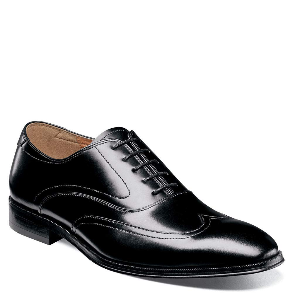 - Florsheim Men's Belfast Wing Tip Oxford Dress shoes Black