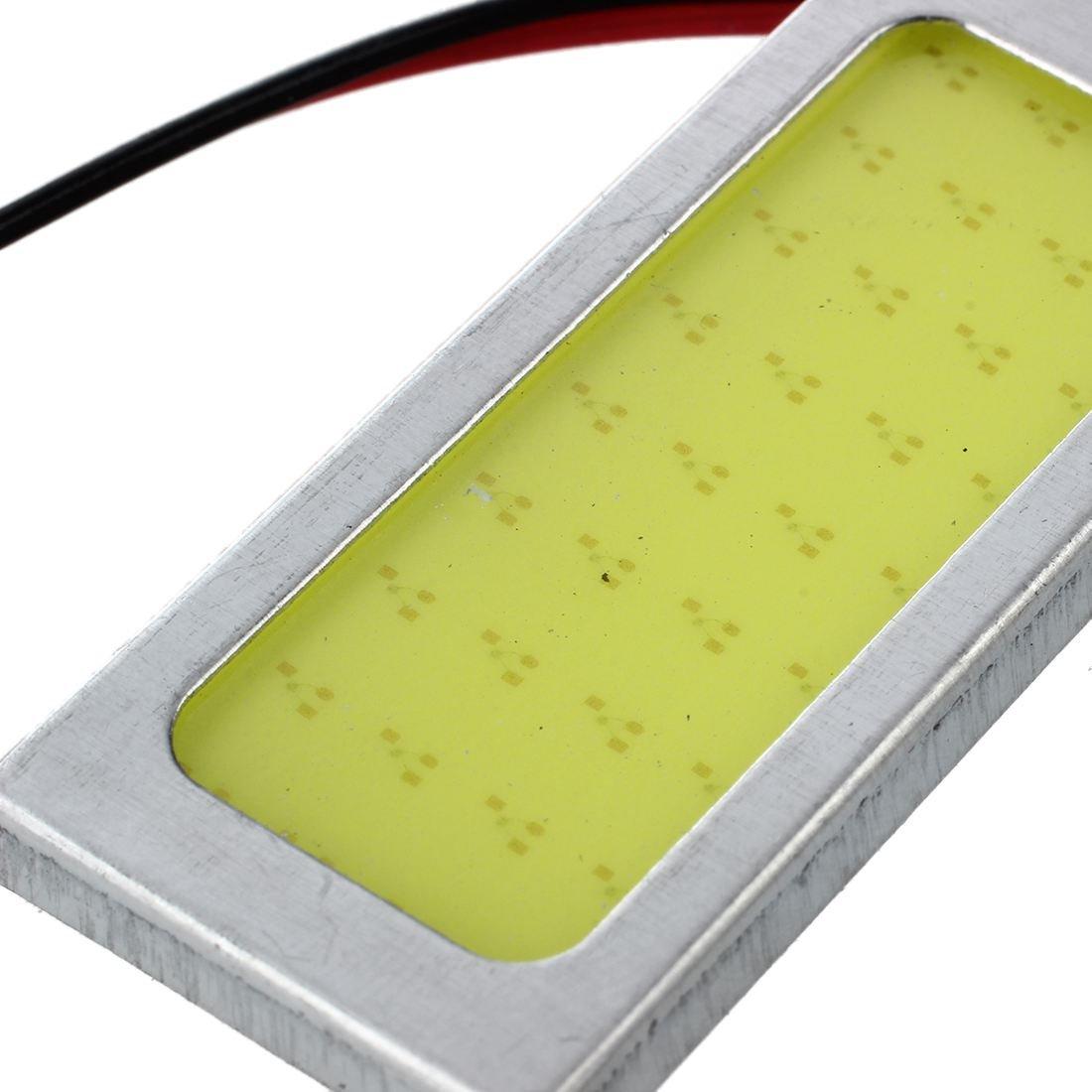 R SODIAL Module feston Panneau lumineux 36 Panneau de LED COB Blanc DC 12V 2.5W BA9S adaptateur T10