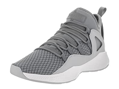 5b6a89ddc3514e Jordan Formula 23 Low BG Big Kid s Running Shoes Cool Grey Cool Grey-White