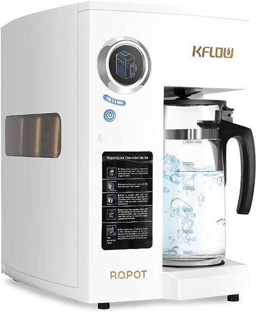 KFLOW Sistema de filtro de agua de ósmosis inversa, filtro de agua ...