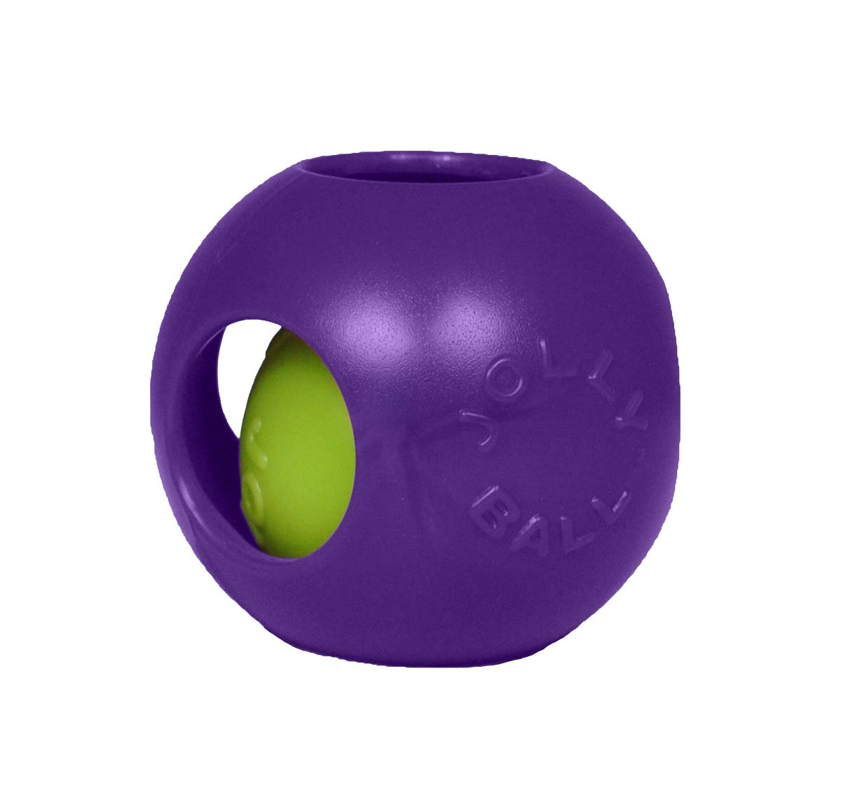 Jolly Pets 10-Inch Teaser Ball Red