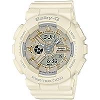 Casio Baby-G Analogue/Digital Beige/Gold Female Watch BA-110GA-7A2 BA-110GA-7A2DR