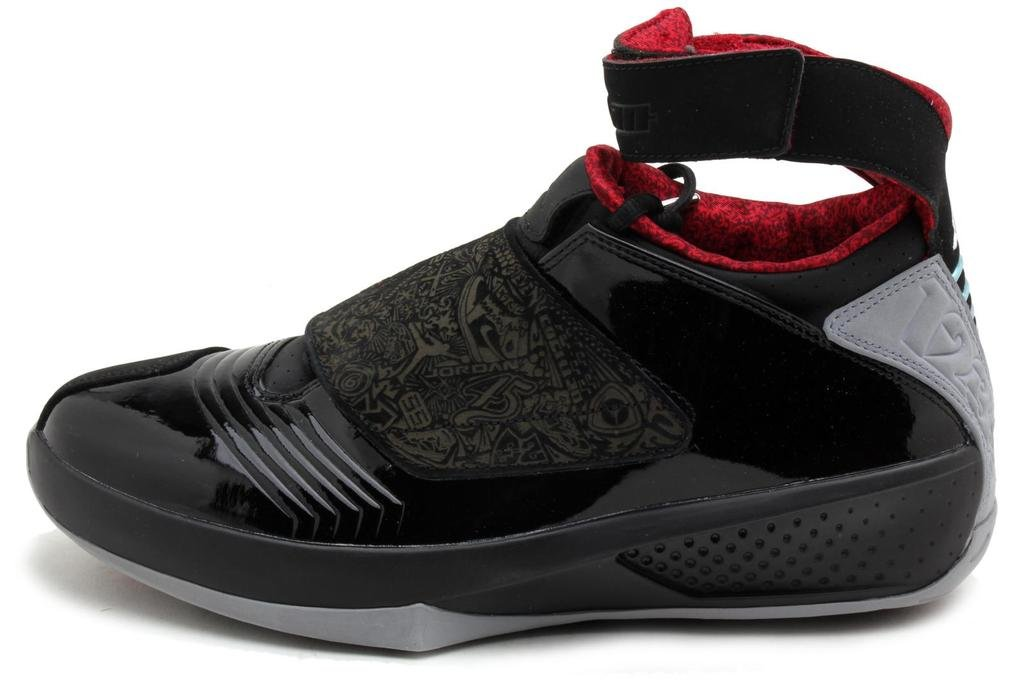 Jordan Mens XX Black/Varsity Red//Stealth 310455-002 10