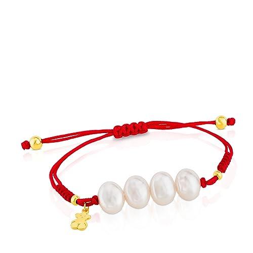 5426f1e9d6fd Pulsera TOUS Nudos de plata vermeil con perlas cultivadas de 0