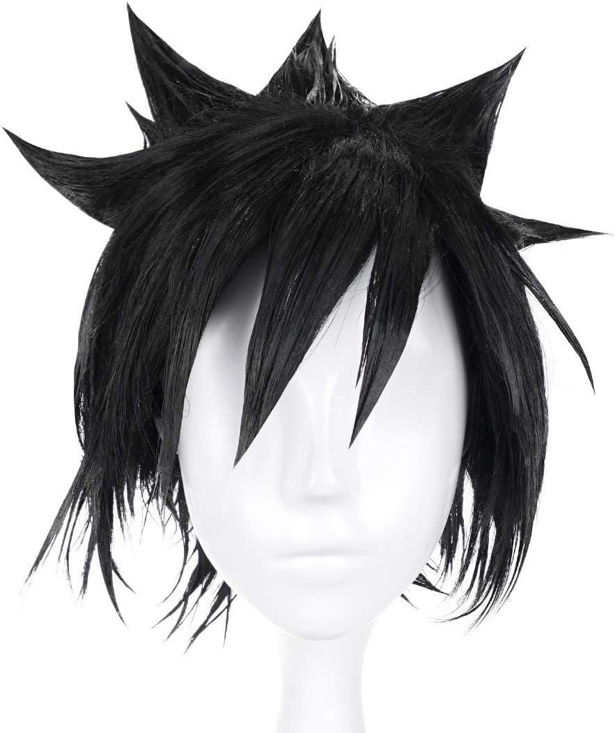 CoolChange Peluca de Sasuke Uchiha, Negra: Amazon.es: Juguetes y ...