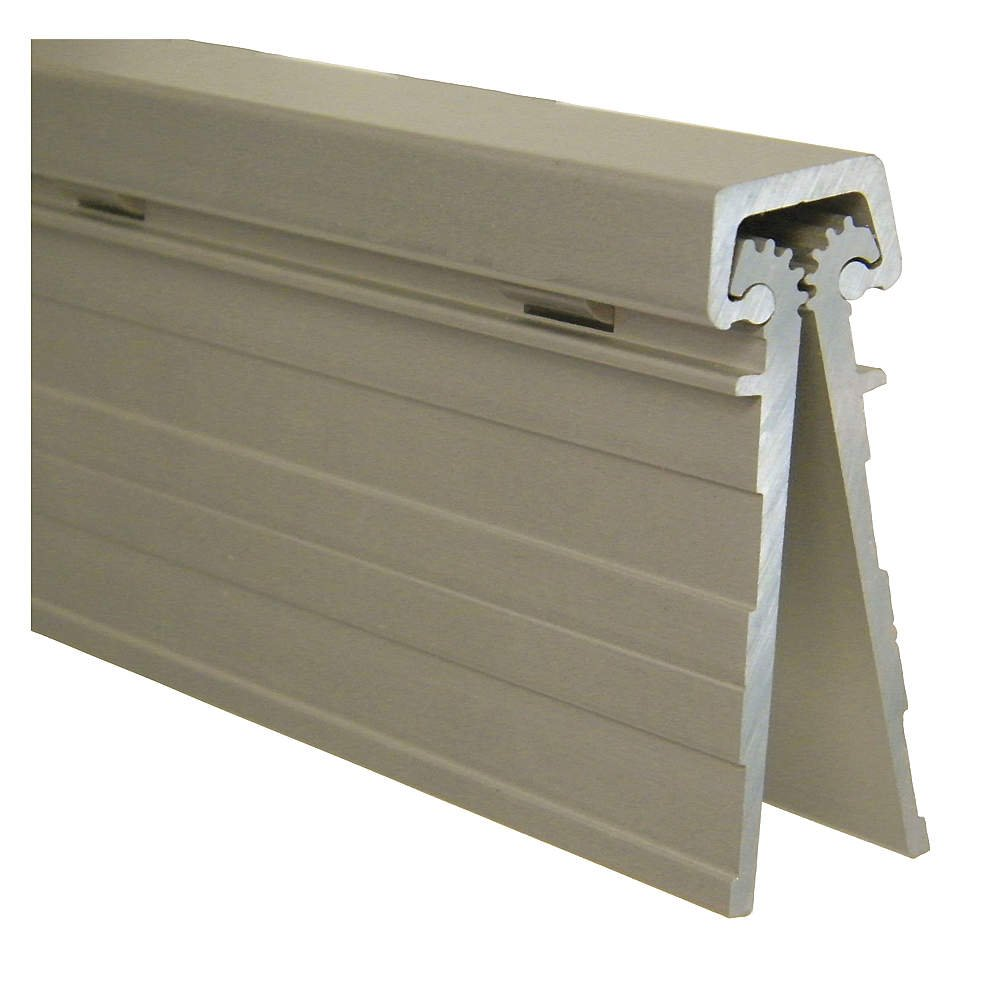 McKinney - MCK-HD-85-CL - 180 Continuous Hinge With Holes, Milled Aluminum Finish, 84-24/25 x 2-3/8