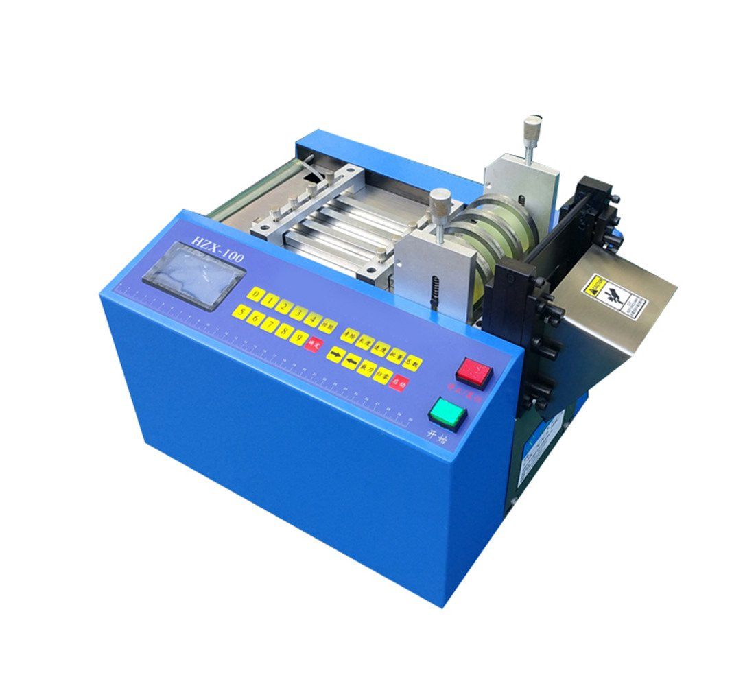 Zorvo Auto Heat-shrink tube cable pipe Cutting Machine for Sleeve, rubber/plastic tube, small wire, sheet, film, etc
