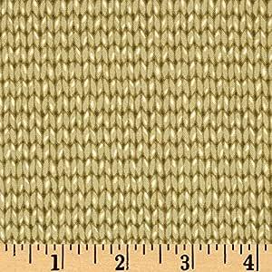 Amazon.com: Downton Abbey II Knit Pattern Loden Fabric ...