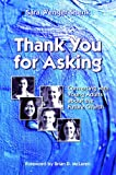 img - for Thank You for Asking: Conversing With Young Adults About the Future Church book / textbook / text book