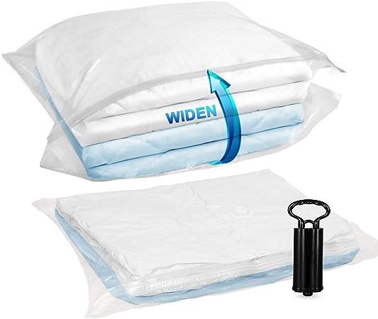 TAILI Cube Vacuum Space Saver Bags Jumbo Size 80x100x38 cm 4 Pack Extra Large