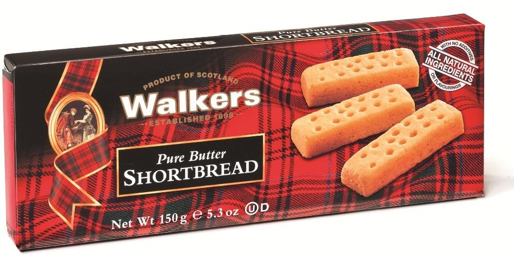 Walkers Shortbread Fingers, 5.3-Ounce Boxes (Pack of 12)