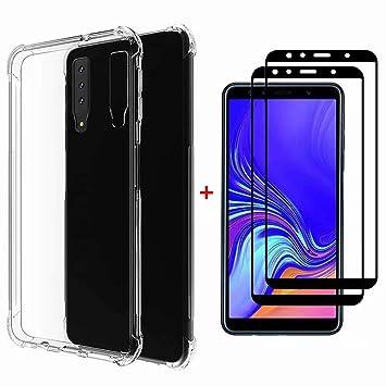 DYGG Compatible con Funda para Samsung Galaxy Note 9, Carcasa Forro Transparente TPU Silicona Flexible Case+[2* Protector de Pantalla]