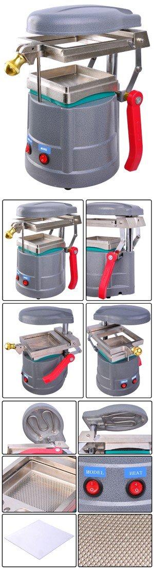 Dental Vacuum Former Forming Machine w/ Materials