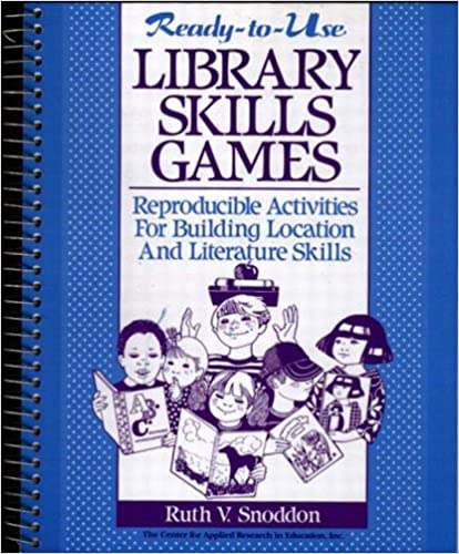 Book Ready-to-Use Library Skills Games: Reproducible Activities for Building Location and Literature Skills