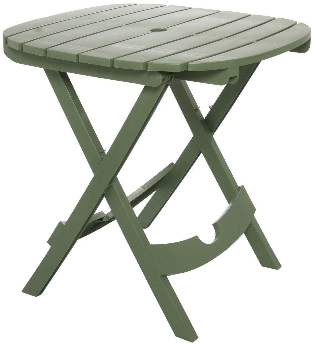 Adams Manufacturing 8550-01-3700 Quik-Fold Cafe Table, Sage