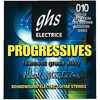 GHS PRDM Progressives Dave Mustaine Roundwound Electric Guitar Strings