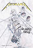 Metallica - ...And Justice for All Musik Posterflaggen Fahne - Grösse 75x110 cm