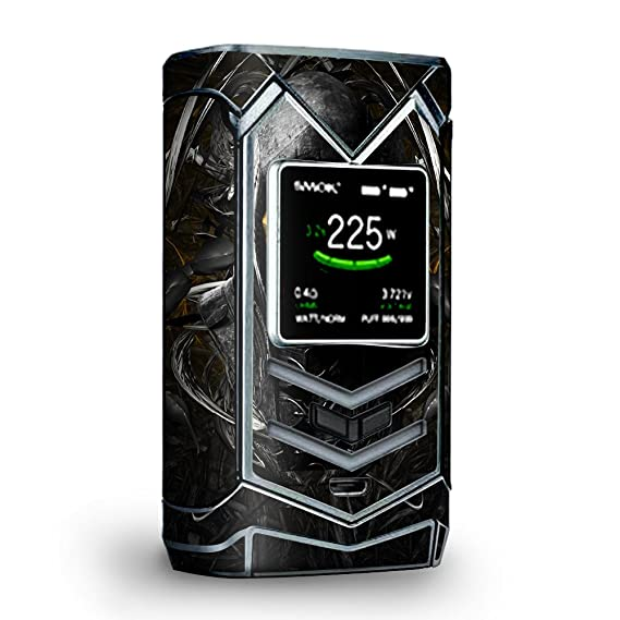 Amazon.com: Skin Decal Vinyl Wrap for Smok Veneno 225W TC ...