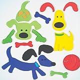 GelGems Doggies Small Bag Gel Clings