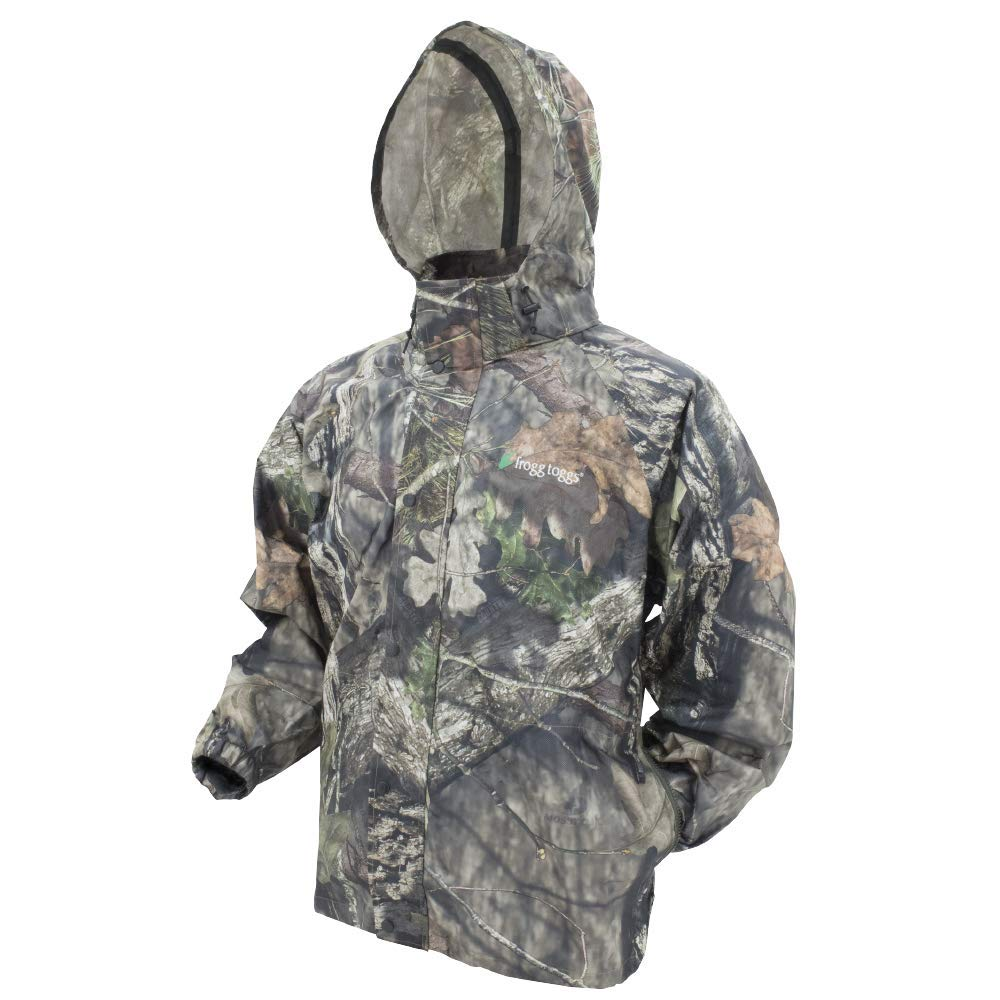 Frogg Toggs Pro Action Rain Jacket, Mossy Oak Break-up Country, Size Large by Frogg Toggs