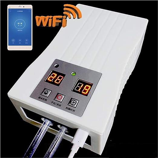 LTLCBB WiFi Temporizador de riego, Impermeable Regulador de riego automático, Programador electrónico multifunción Digital, de Dos vías con Sistema de riego para riego de jardín: Amazon.es: Hogar