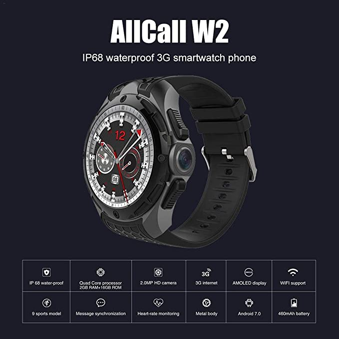 Juman Smartwatch MTK 6580 Quad Core 1.3GHz Cotex-A7 CPU ...