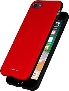 Goospery Skinny Bumper Hybrid Case for Apple iPhone SE 2020 Case, iPhone 8 Case, iPhone 7 Case (Red) IP8-SKNB-RED