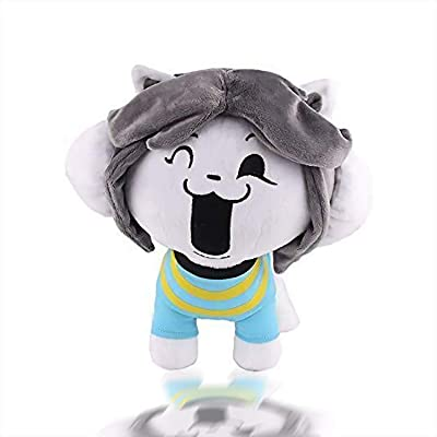 TEMMIE plush stuffed doll cute new creative gifts for children under the legendary role-playing Undertale: Office Products
