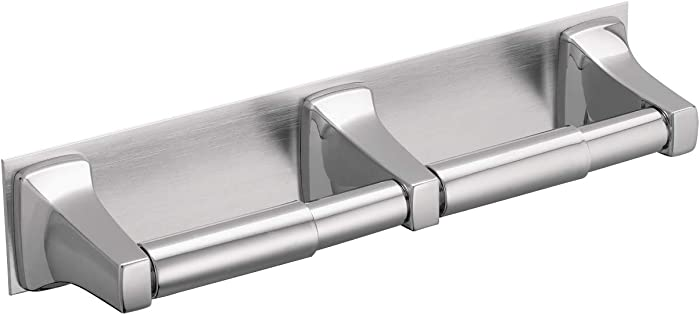 Moen R5580 Commercial Donner Collection In-Line Double Roll Toilet Paper Holder, Chrome