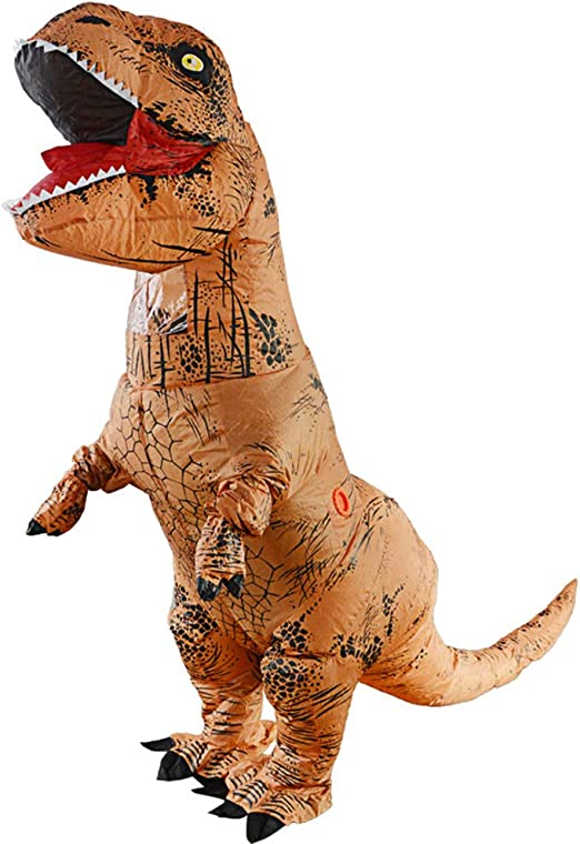 HSDCK Inflables T-Rex Dinosaur Inflate Tyrannosaurus Disfraces ...