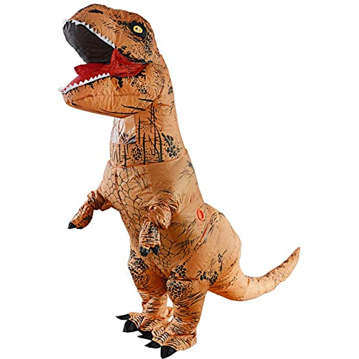 HSDCK Inflables T-Rex Dinosaur Inflate Tyrannosaurus Disfraces ...