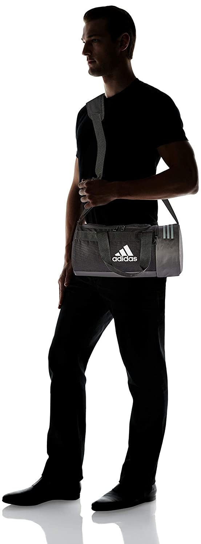 27a0834d7 Amazon.com: adidas Convertible 3-Stripes Duffel Bag Extra Small (Black, XS):  BuyBox Shop