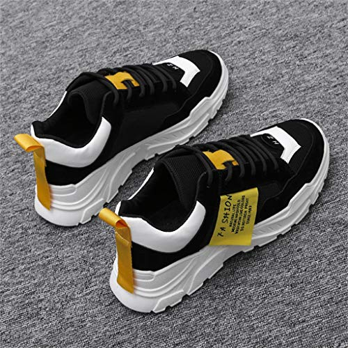 0543699a5165d JJLIKER Mens Mesh Fashion Sneakers Summer Comfortable and Breathable  Wear-Resistant Athletic Shoes for Big Boys Teen