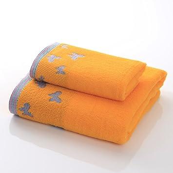 Toalla de baño Puede Usar Toallas de algodón Adulto Masculino y Femenino Traje de Pareja Traje Agua Suave (2 Colores Opcional) Toalla (Color : B): ...