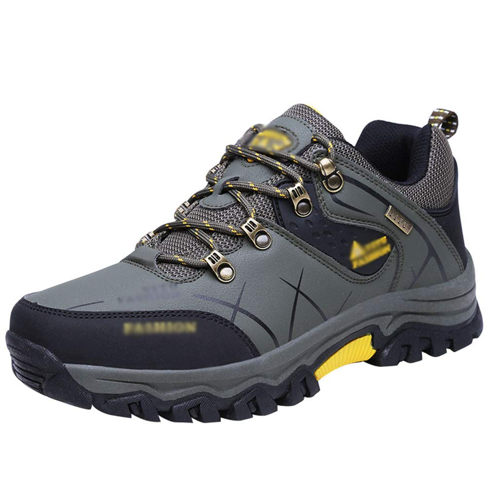 Rengzun Zapatillas de Senderismo para Hombre Impermeables Antideslizante Adventurer Botas de Senderismo Al Aire Libre Botas de Monta/ña Oto/ño Invierno