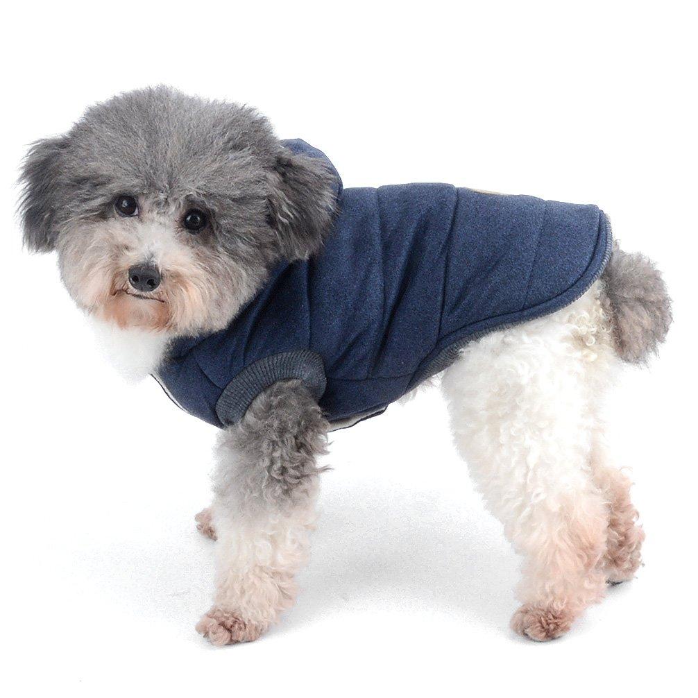 It s Run Small, prendere il prossimo due dimensioni Up Please Ranphy imbottita da cane cappotto cappuccio Cat Puppy Cold Weather cappotti giacca invernale per piccolo cane sotto 9,1/kilogram