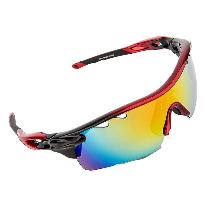 TZQ Gafas Polarizadas Gafas De Ciclismo Gafas Multiusos Gafas De Sol Antiniebla Al Aire Libre Gafas De Sol Gafas De Sol,A-OneSize: Amazon.es: Ropa y ...