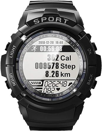 Reloj deportivo militar para hombre, con brújula y monitor de ...