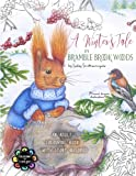 img - for A Winter's Tale in Bramble Brook Woods: Adult Colouring Book book / textbook / text book