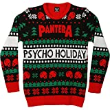 Pantera Men's Ugly Christmas Sweater Sweatshirt Medium Black